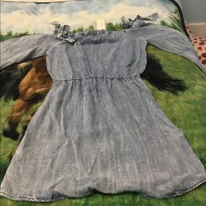 All Blue Skies Southern Fried Chic Dress